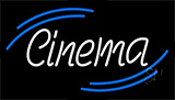 White Cinema Neon Sign