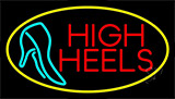 Red High Heels With Sandal Neon Sign