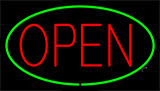 Red Open Green LED Neon Sign