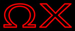 Omega Chi Neon Sign