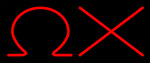 Omega Chi Neon Sign 1