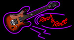Rock N Roll Electric Guitar LED Neon Sign