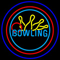 Bowling Neon Yellow Blue
