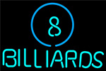 Ball Billiards Pool LED Neon Beer Sign