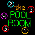 Pool Room Billiards Neon Beer Sign