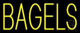 Yellow Bagels Neon Sign