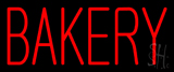 Red Bakery Neon Sign