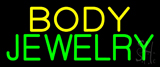 Body Jewelry Neon Sign