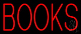 Red Books Neon Sign