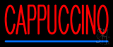 Red Cappuccino Neon Sign