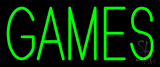 Green Games Neon Sign