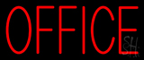 Red Office Neon Sign