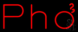 Red Pho Neon Sign