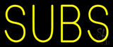 Yellow Subs Neon Sign