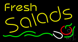 Fresh Salads LED Neon Sign