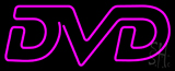 Purple Dvd LED Neon Sign