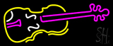 Violin Logo LED Neon Sign