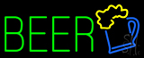 Green Beer Logo LED Neon Sign