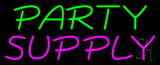 Party Supply Block Neon Sign