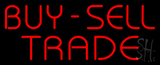 Red Buy Sell Trade Neon Sign