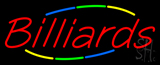 Multicolored Billiards Neon Sign
