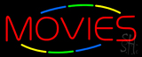 Multicolored Movies LED Neon Sign