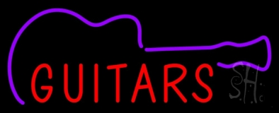 Guitars LED Neon Sign