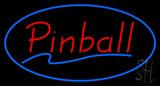 Pinball Blue Neon Sign