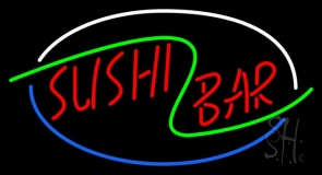 Stylish Sushi Bar LED Neon Sign