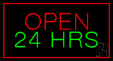 Open 24 Hrs LED Neon Sign