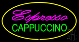 Espresso Cappuccino Yellow LED Neon Sign