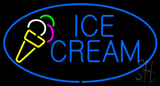 Blue Ice Cream LED Neon Sign