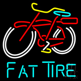 Fat Tire Beer LED Neon Sign