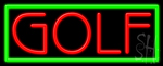 Golf LED Neon Sign