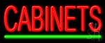 Cabinets LED Neon Sign