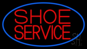 Shoe Service Neon Sign