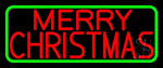 Red Merry Christmas LED Neon Sign