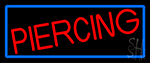 Red Piercing LED Neon Sign