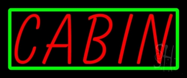 Cabin 4 LED Neon Sign