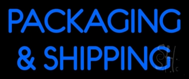 Packaging And Shipping Neon Sign