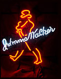Big Johnnie Walker Distillery Logo Neon Sign