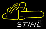 Big Stihl Chain Saw Chainsaw Logo Neon Sign
