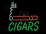 Cigars Logo Neon Sign