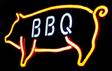 Custom Red Bbq Neon Sign