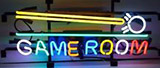 Gabe Room With Logo Neon Sign