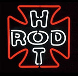 Hot Rod Logo Neon Sign