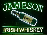 Jameson Irish Whiskey Logo Neon Sign