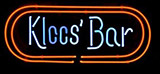 Kloos Bar Logo Neon Sign