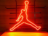 Michael Jordan Nike Air Basketball Logo Neon Sign