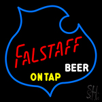 Falstaff On Tap Beer LED Neon Sign